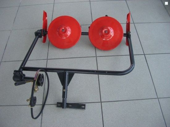 Two Disc Mower with Mini Tiller
