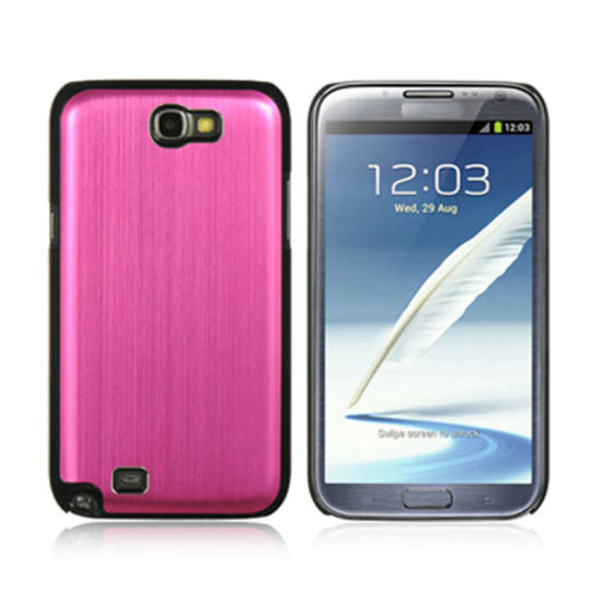 PC +Metal Case for Samsung Note2