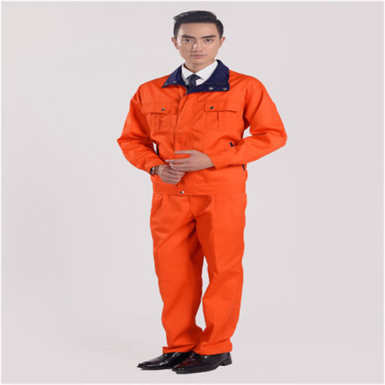 Anti-Pilling Washable High-Viz Customized Solid Color Workwear for Spring/Autumn