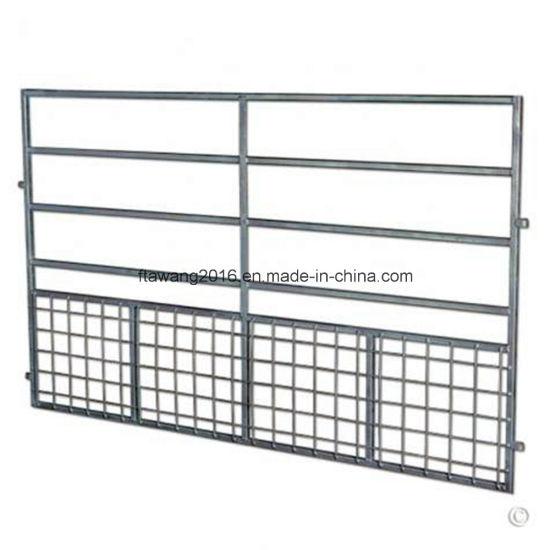 Galvanized Lamb/Kid-Proof Portable Gate Lamb Fence Panel Sheep Goat Hurdle with Mesh