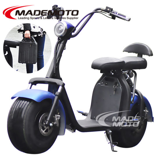 60V 1500W Big Electric Harley Scooter Citycoco with Easy Detachable Battery Pack pictures & photos