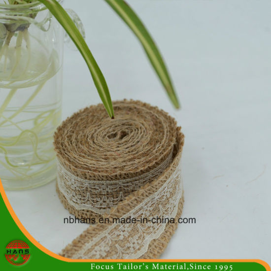 Hans Good Quality Jute Tape for Lace Gift Packing