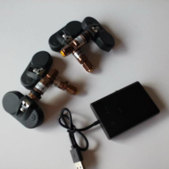 China APP Bluetooth TPMS Internal Sensors Tire Pressure Monitor