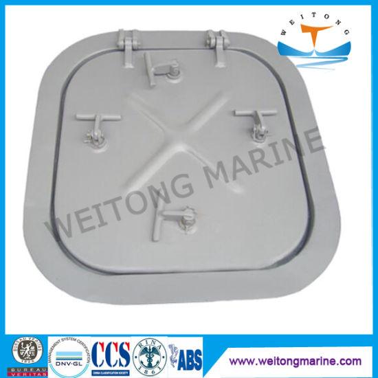 Waterproof Marine Aluminum Sunk Type Watertight Hatch Cover