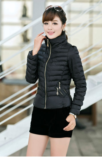 2016 Women Warm Slim Cotton Coat pictures & photos