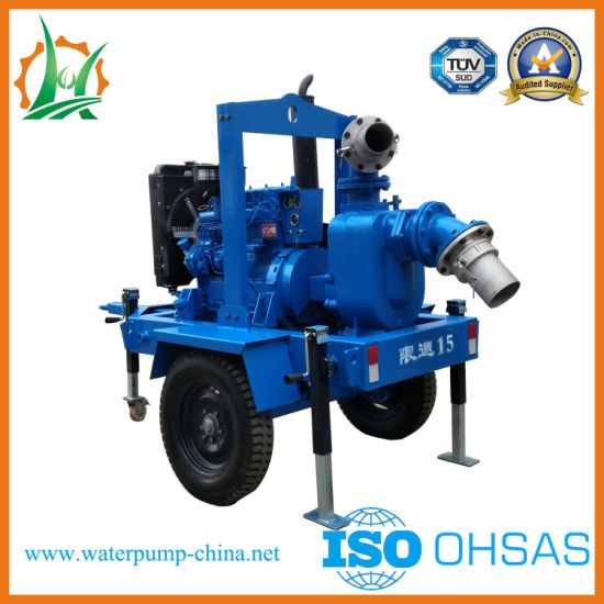 Non-Clogging Self-Priming Pump for Trash Water Dewatering pictures & photos