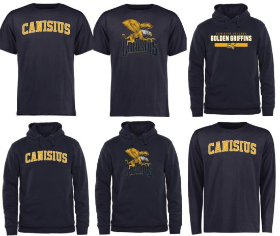 sports shoes 72b6b bb05c Customize Canisius College Golden Griffins Ncaa Jersey &Pullover Hoodie &  T-Shirt