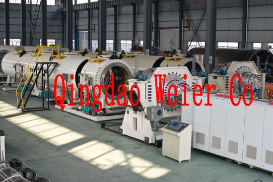 16mm-1200mm HDPE Water Pipe Plastic Manufacturing Machinery