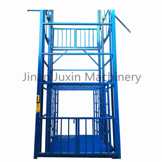 Juxin Hydraulic Warehouse Cargo Lift 1000kg