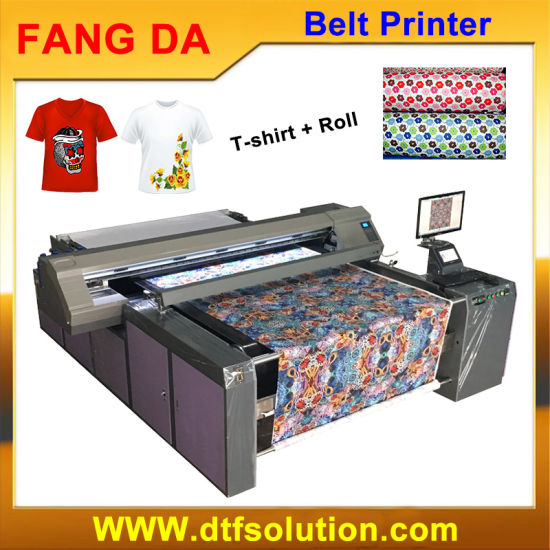 China Blet Pigment Digital Printer for Cotton Fabric - China