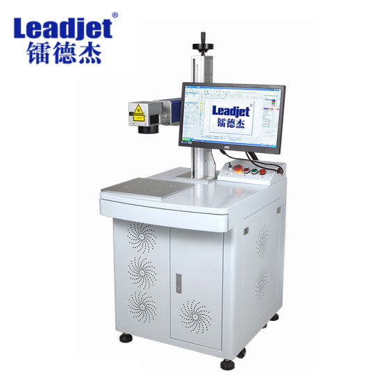 Ce Certification Optical Fiber Laser Marking Machine Engraving on PVC, Auto-Parts pictures & photos