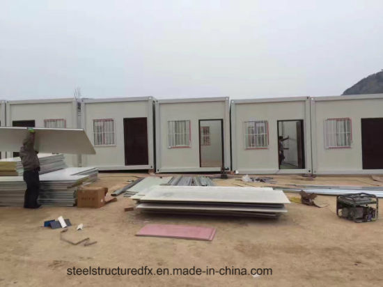20 FT Prefabricated Foldable Container House/ Camp/ Living Accommodation pictures & photos