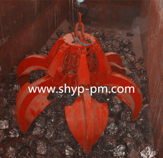 Motor Hydraulic Orange Peel Grab with Ce pictures & photos