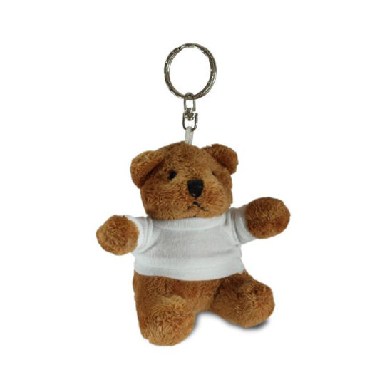 Mini Brown Teddy Bear Keychain Plush for Bag Charm pictures & photos