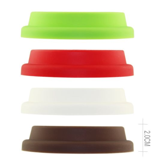 Food Grade Approved Leak Proof Silicone Cofeee Cup Covers pictures & photos