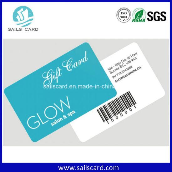 Barcode Discount VIP Card