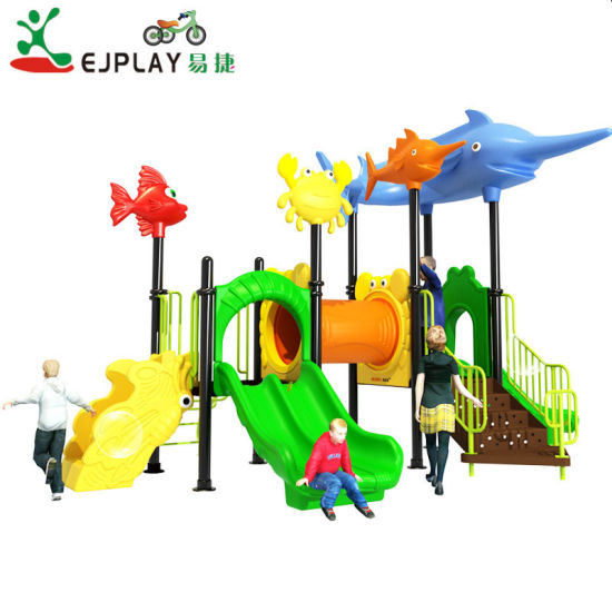 New Style Customized LLDPE Outdoor Playground Equipment