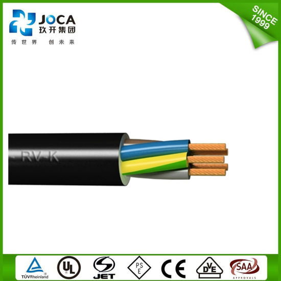 H05VV  F 0.8mm2 1mm2 1.5mm2 2.5mm2 Home Electrical Power Cable And Wire