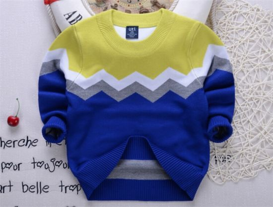 [Hot Item] T1209 Children Sweater Pullover Autumn Winter Crochet Sweater  Boy Sweaters Kids Pullover Children Clothes Kid Boys Pullover Knitted Shirt
