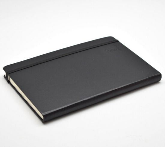 Black Moleskine Leather Notebook pictures & photos