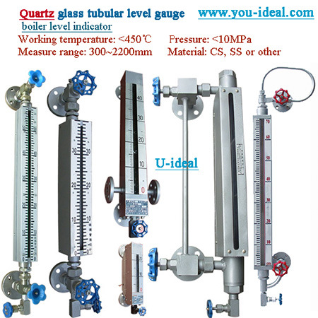 Side Mounted Tank Level Monitoring Test Ordinary Glass Tube Level Gauge pictures & photos