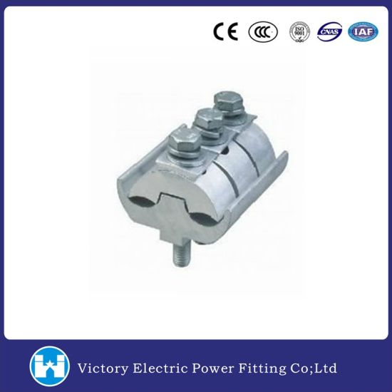 Electrical Line Fitting Aluminum Parallel Groove Clamp pictures & photos