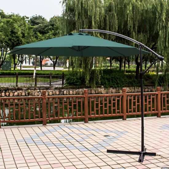 Banana Cantilever Hanging Patio Umbrellas Made in China