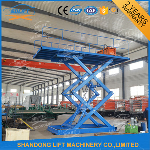 Industrial Material Hydraulic Scissor Car Lift pictures & photos