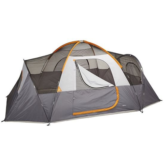 Large Family Camping Tent With 2 Rooms