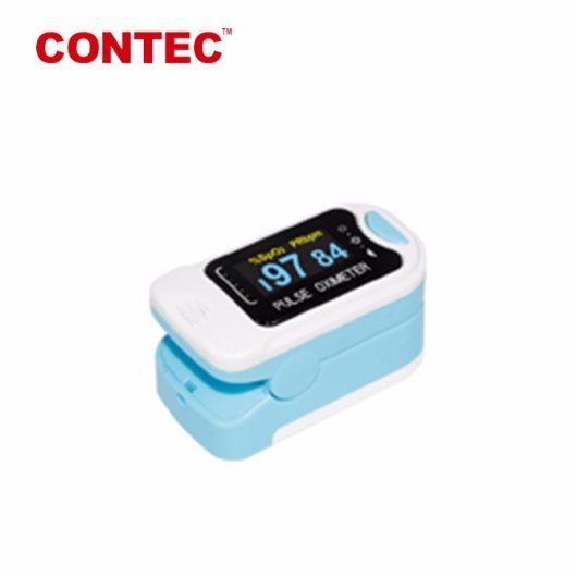 Contec Cms50n Finger Tip Pulse Oximeter Adjustable Brightness