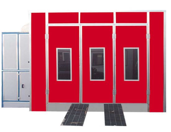Automotive Paint Spray Booth with Electric Heat Element