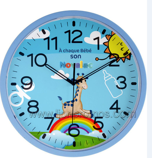 "Cheap Promotion Events Giveaways Gift 12"" Quatz Wall Clock pictures & photos"