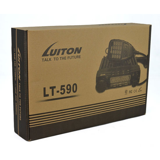 Luiton Lt-590 Ctcss/Dcs/Dtmf/ 2tone/5tone Decodes/Encodes VHF Mobile Transceivers pictures & photos