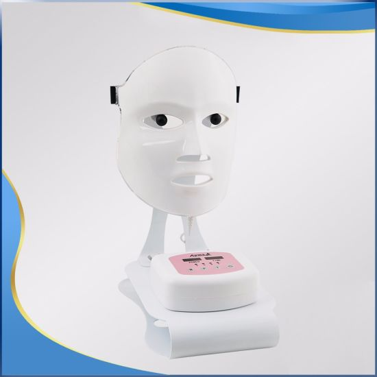 3 Colors OEM Facial LED Mask PDT Therapy pictures & photos