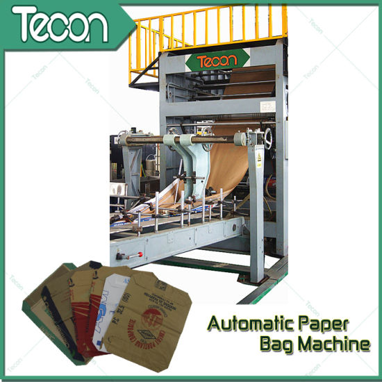 High-Speed Glued Paper Sack Machinery pictures & photos