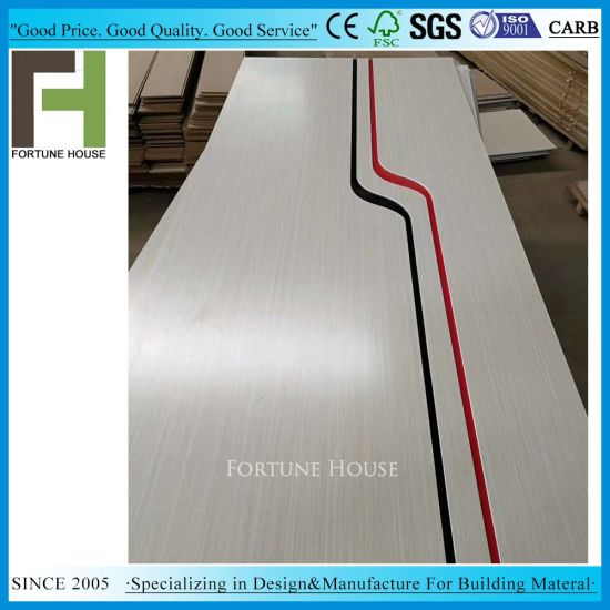 Melamine Paper Moulded MDF Door Panels pictures & photos