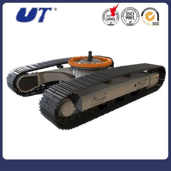 China Wholesale Excavator Parts Steel Crawler Chassis Factory pictures & photos
