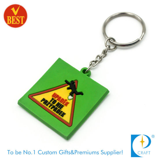 Custom Branded Promotional Cheap Soft PVC Key Chain pictures & photos