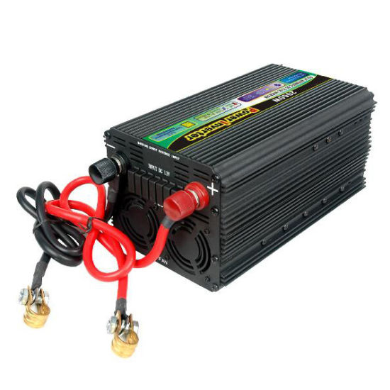 2000W DC12V/24V AC220V/110 Modified Sine Wave Power Inverter with UPS Charger pictures & photos