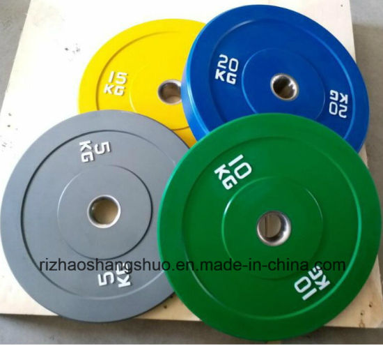 High Quality Colour Competition Rubber Bumper Weight Plates pictures & photos