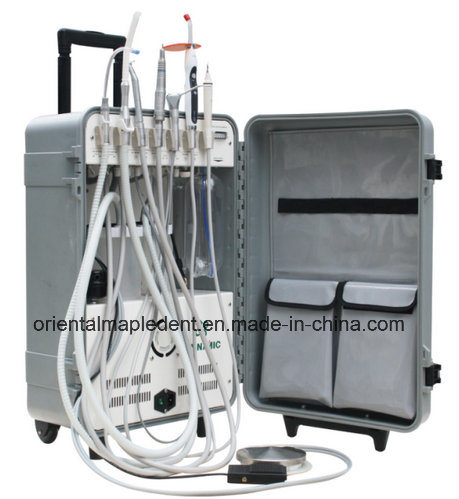 FDA, CE Portable Dental Unit with Scaler, LED Curing Light
