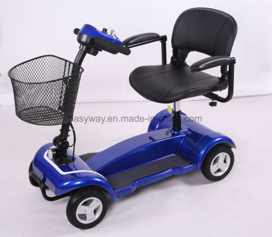 4-Wheel Small Size Portable Mobility Scooter with Fashion Design pictures & photos
