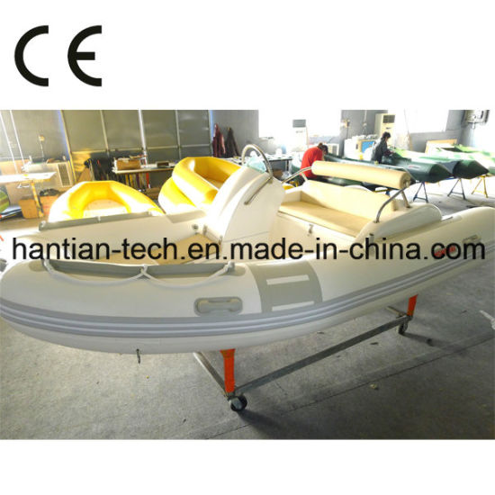 4.2m Inflatable Rib Boat with CE Certificate for Leisure (RIB420C)