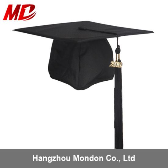 2018 Promotion Stock Graduation Cap with Tassel