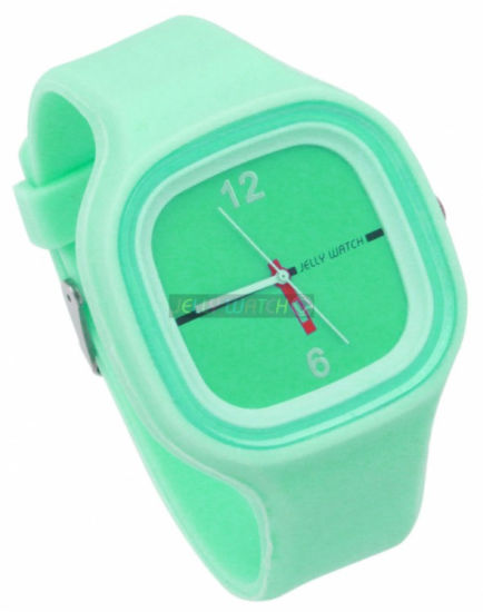 Light Color Changeable Face Silicone Jelly Watch with Cheaper Price pictures & photos