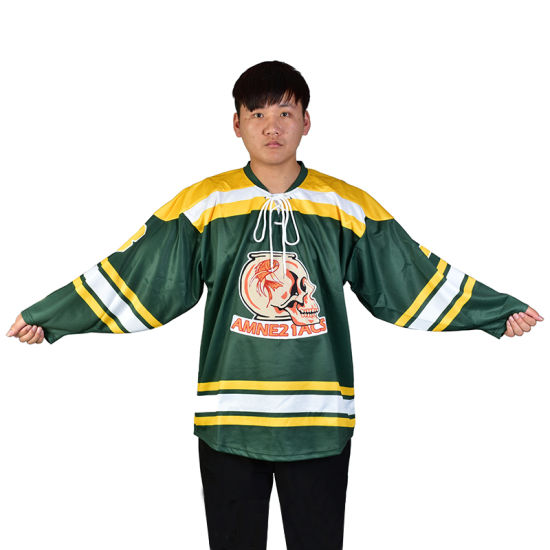 Chinese Professional Manufacturer Customize Ice Hockey Jersey with Free  Design pictures   photos 02e98cee0ad