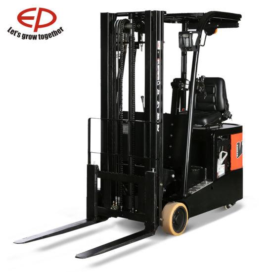 1.0t Narrow Aisles Three-Wheel Electric Forklift Truck