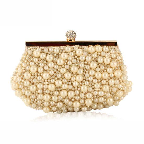 87d950db890 Newest Fashion Women Handbag Pearl Bag Designer Lady Clutch Bag pictures &  photos