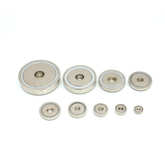 Bore Neodymium Pot Magnet in Stock