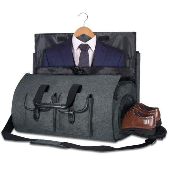 Large Capacity Folding Multi-Functional Fitness Storage Travel Bag Garment Bag Garment Duffel Bag